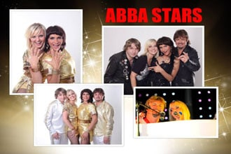 Tribute Band Abba Stars shine on stage