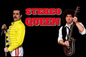 Freddie Mercury and Brian May Tribute Act – Stereo Queen