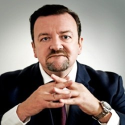 Top UK Ricky Gervais Impersonator – Tim Oliver