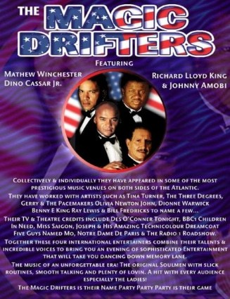 drifters tribute band - Motown magic live