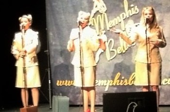 40s tribute act the Memphis Belles group